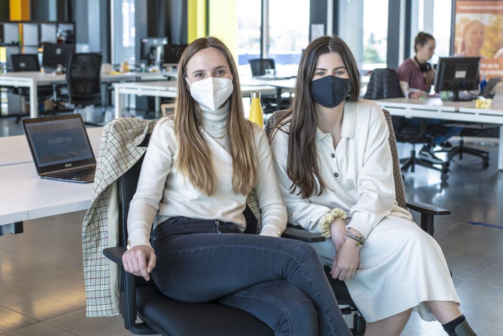 Sedación digital con HealthNap y sus creadoras Paula López y Patricia Muñoz